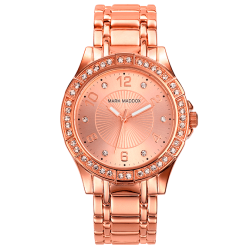 Reloj mujer Mark Maddox, colección Pink gold ref. MM0004-99