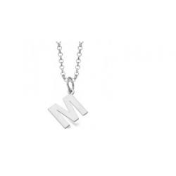 """Cadena + colgante letra """"M"""" Le Carré ref. LD041RO.M"""