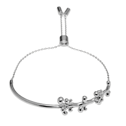 PULSERA MALIBU SILVER LA PLAGE Collection Ref. PU02-036-U
