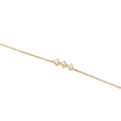 PULSERA FRANCINE GOLD GARÇON Collection Ref. PU01-039-U