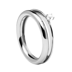 ANILLO MARION SILVER Ref. AN02-112 GARÇON COLLECTION