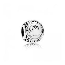 Charm Pandora Plata Signo Cancer Con Estrellas 791939