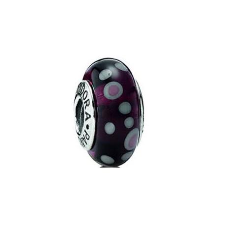 Abalorio Pandora Cristal de Murano Circulos morado Artículo 790693