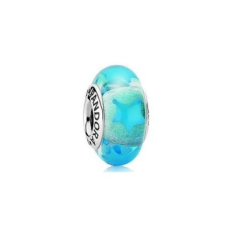 Abalorio Pandora Murano estrellas azules ref. 790905