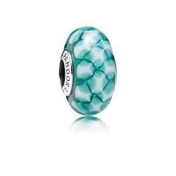 Abalorio Pandora Murano celosía azul ref. 791625